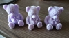 Lavender Teddy Bear Soaps